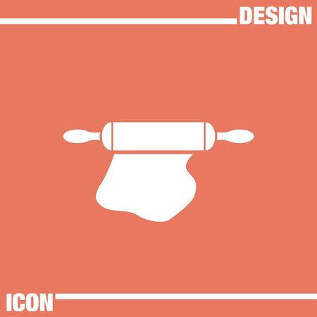 rolling pin: rolling pin icon