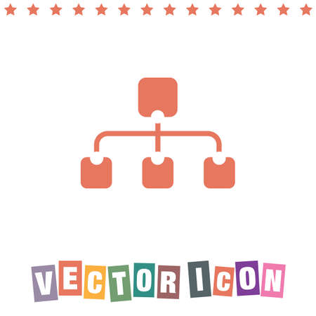 site map: site map icon Illustration