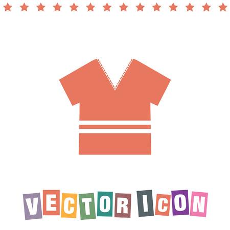 t shirt: modern t shirt icon
