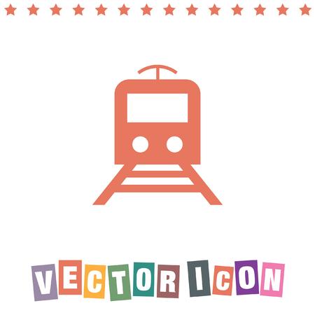 metro: subway metro icon Illustration