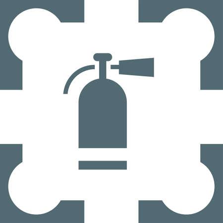 extinguish: fire extinguisher icon