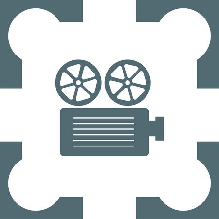 projector: movie projector icon