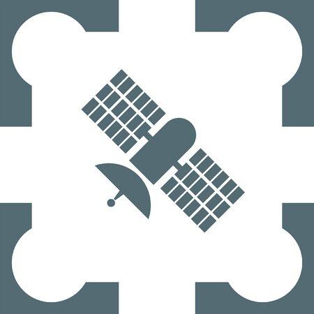 space antenna: satellite icon