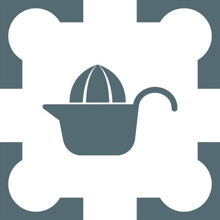 squeezer: citrus squeezer icon Illustration