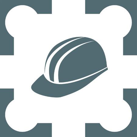 protective: protective helmet icon