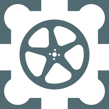 movie film: movie video film reel icon