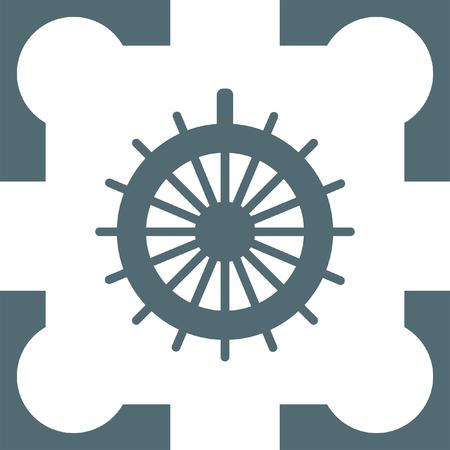 Steuerruder: Ruder-Symbol