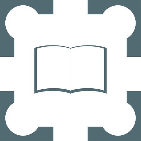 encyclopedias: book icon Illustration