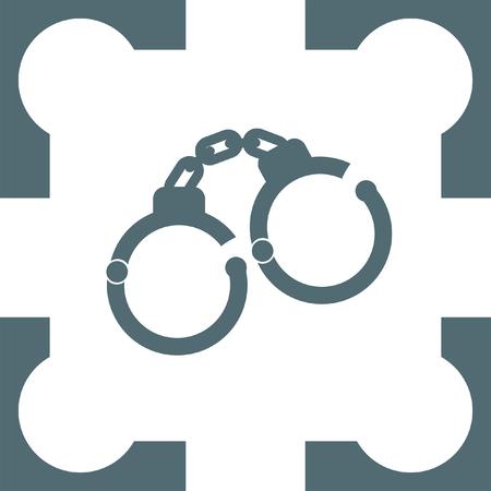 handcuffs: handcuffs icon