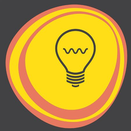 light bulb icon: light bulb icon