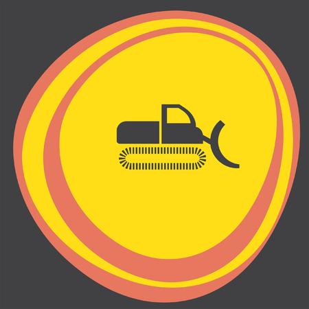 excavating: dredge icon