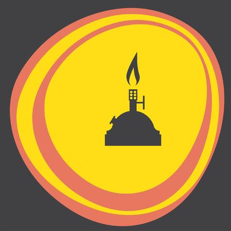 burner: laboratory burner icon