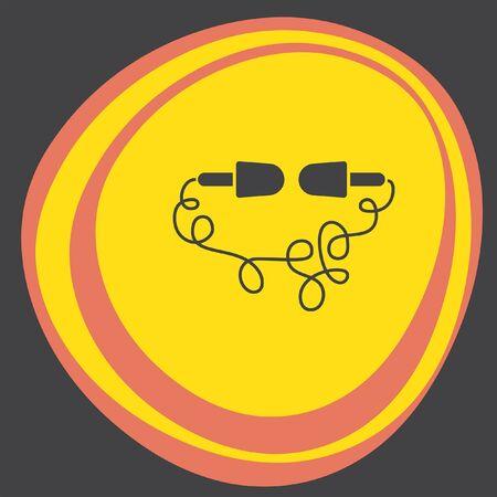 earbud: headphones icon
