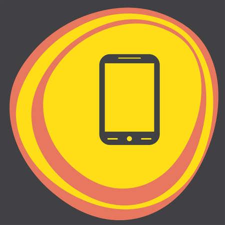 smart phone: smart phone icon Illustration