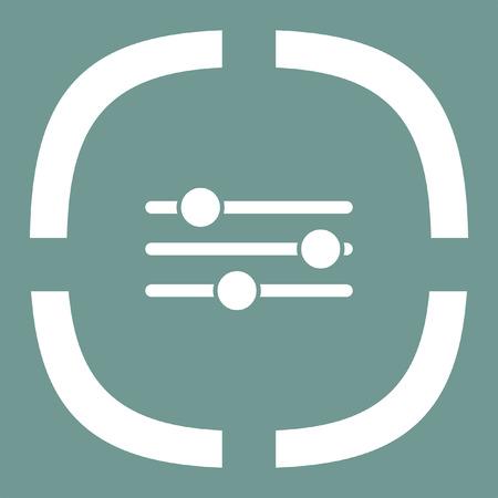sliders: sliders vector icon