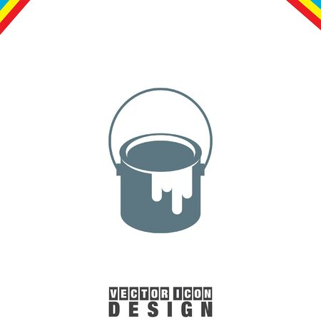 paint can: Paint Bucket vector icon