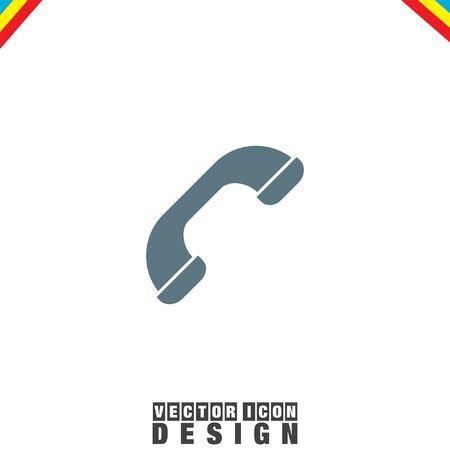 phone: Phone vector icon Illustration