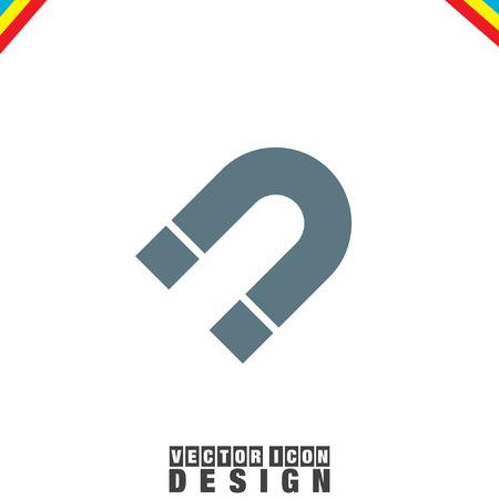 Vector icon Imán