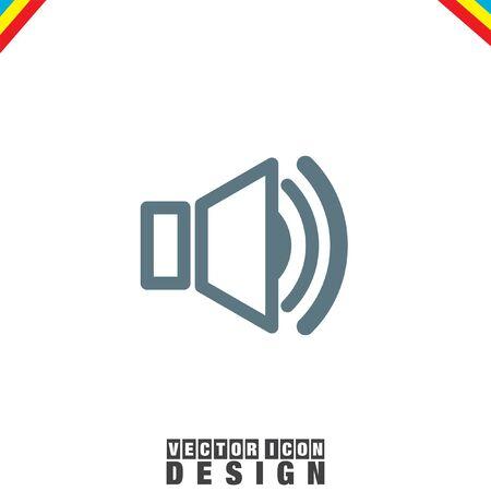 loud speakers: Speaker vector icon