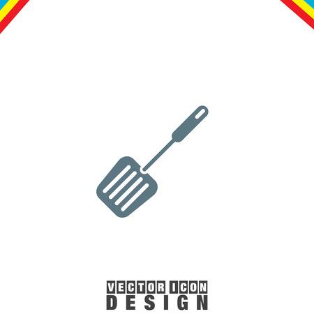 spatula: Spatula BBQ vector icon
