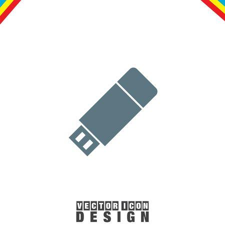usb stick: USB stick vector icon