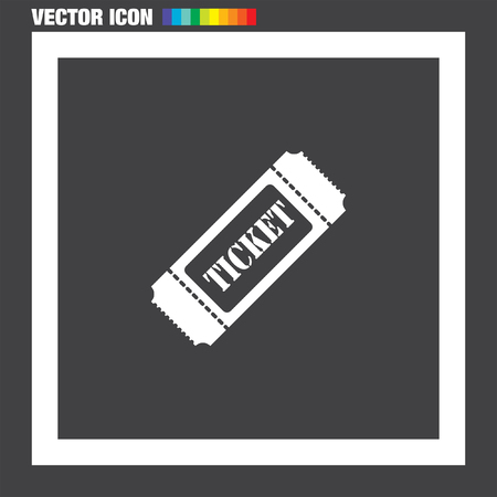 raffle: Ticket vector icon