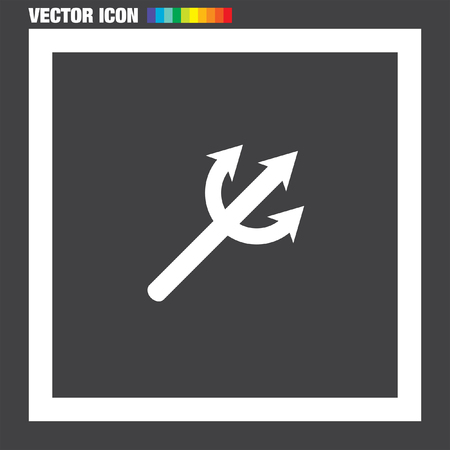 trident: Devils Trident vector icon