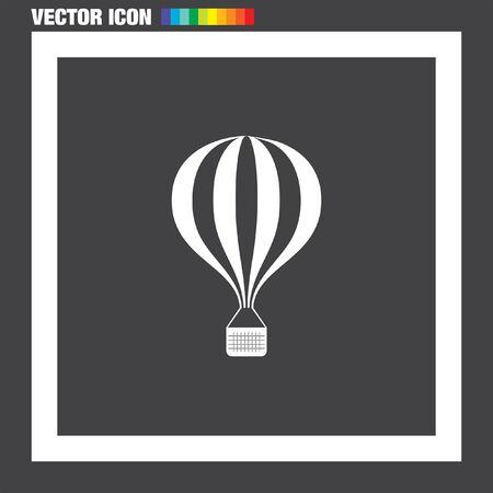 air baloon: Air baloon vector icon Illustration