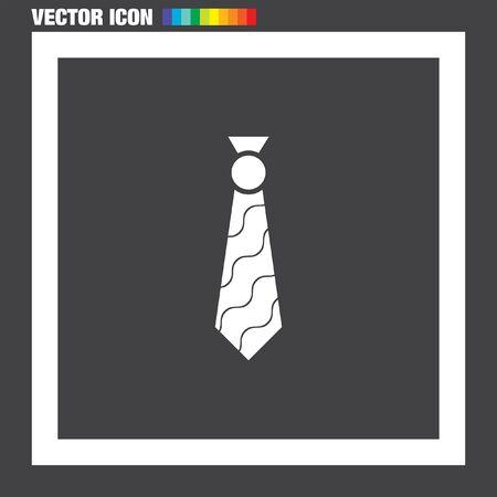 formal shirt: Tie vector icon Illustration