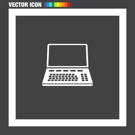 lap top: Lap Top vector icon Illustration