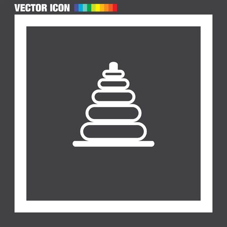 baby toy: Baby Toy vector icon