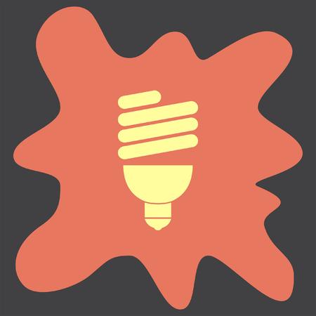 power saving lamp: Fluorescent light bulb
