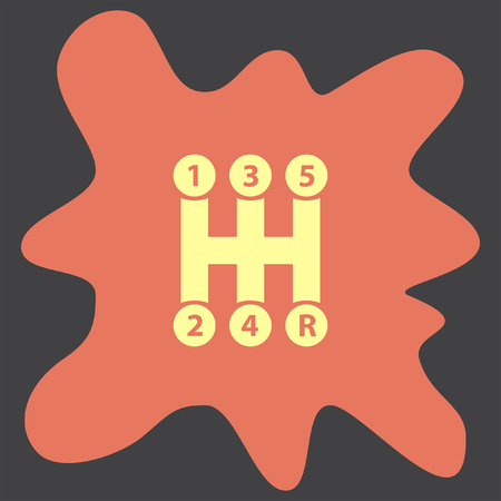 gearbox: Gearbox vector icon