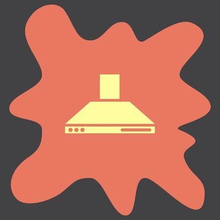extractor: Kitchen Hood vector icon
