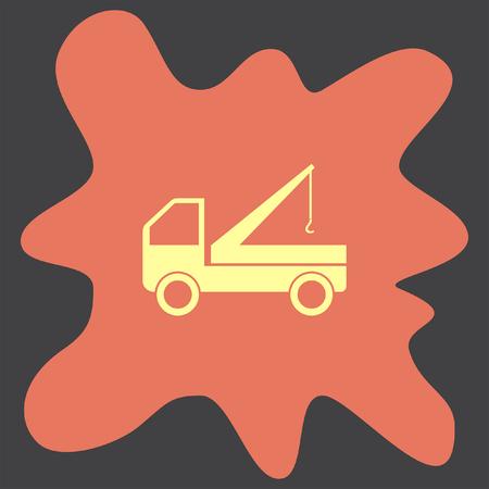 truck crane: Truck Crane icon