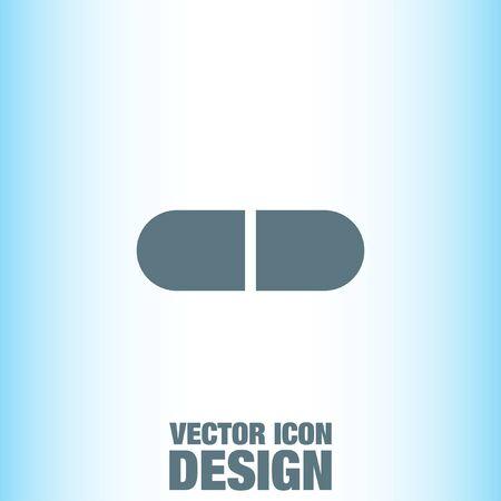 doses: Pill vector icon