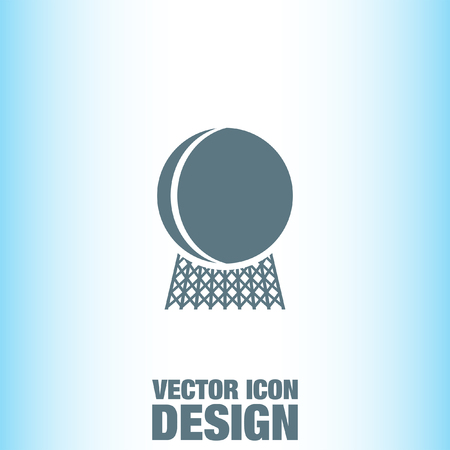 reactor: Nuclear Power Plant vector icon