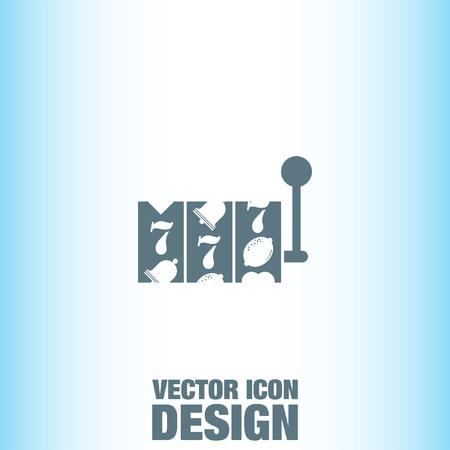 slot: Slot Machine vector icon