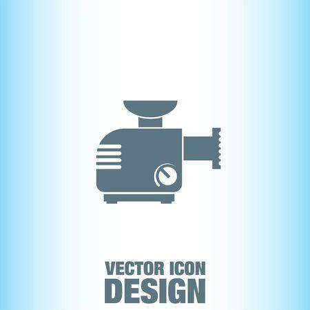 molinillo: Picadora de carne icono de la máquina de vectores