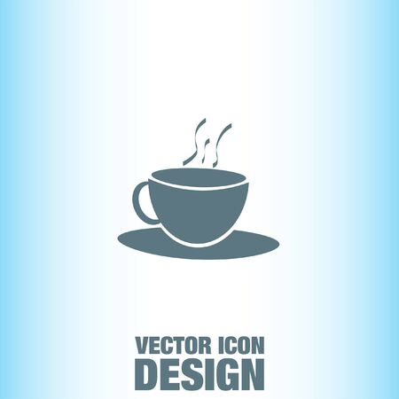 cofee cup: Coffee Cup vector icon Illustration