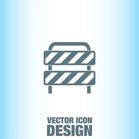 barrier: Barrier vector icon Illustration