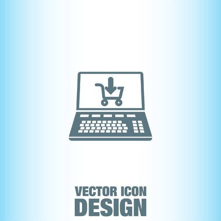 online: Online Shopping vector icon