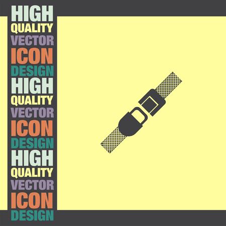 seatbelt: Seat Belt vector icon