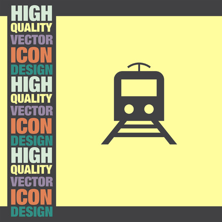 metro: Subway Metro vector icon