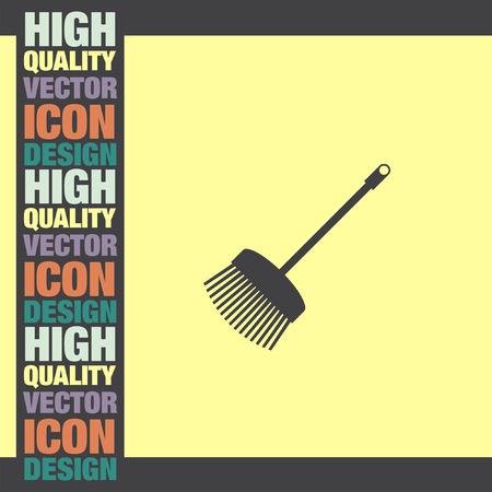 broom: Broom vector icon