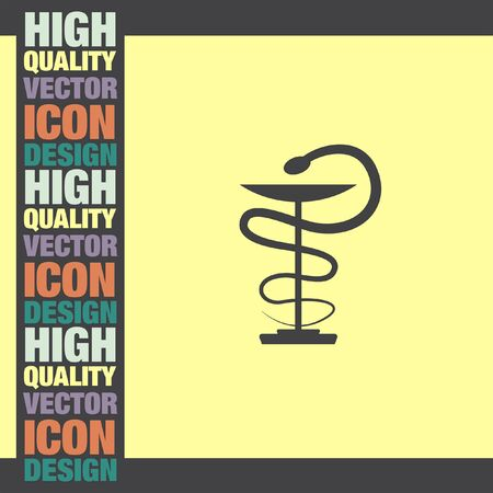 medics: Pharmacy Snake vector icon