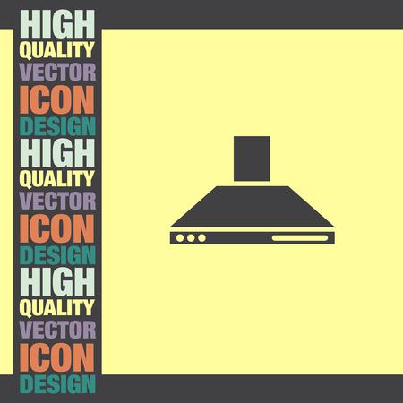 extractor: Kitchen Hood vector icon
