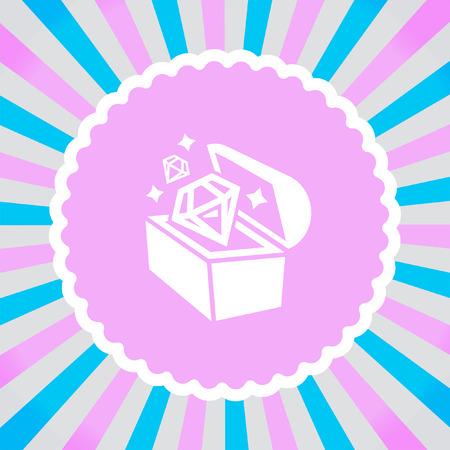 mimic: Treasure Chest vector icon