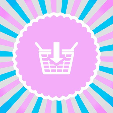 shopping chart: Add to Shopping Chart vector icon