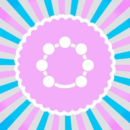 pandero: icono del vector de la pandereta Vectores